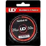 Youde UD Kanthal A1 Draht zum Selbstwickeln von Coils, Circa 9 m Rolle, 0.4 mm Durchmesser (26 awg), 1 Stück
