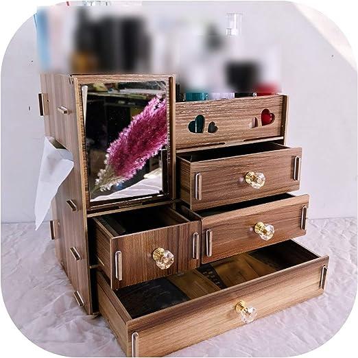 W-boll Storage Box Caja organizadora de Madera para Joyas, Hecha a ...