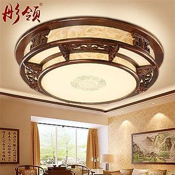 Entzuckend BRIGHTLLT Chinesische Deckenleuchte Schlafzimmer Studie Beleuchtung Rund Um  Holz Kunst Pergament Chinesischen Wohnzimmer Light Dinner Licht