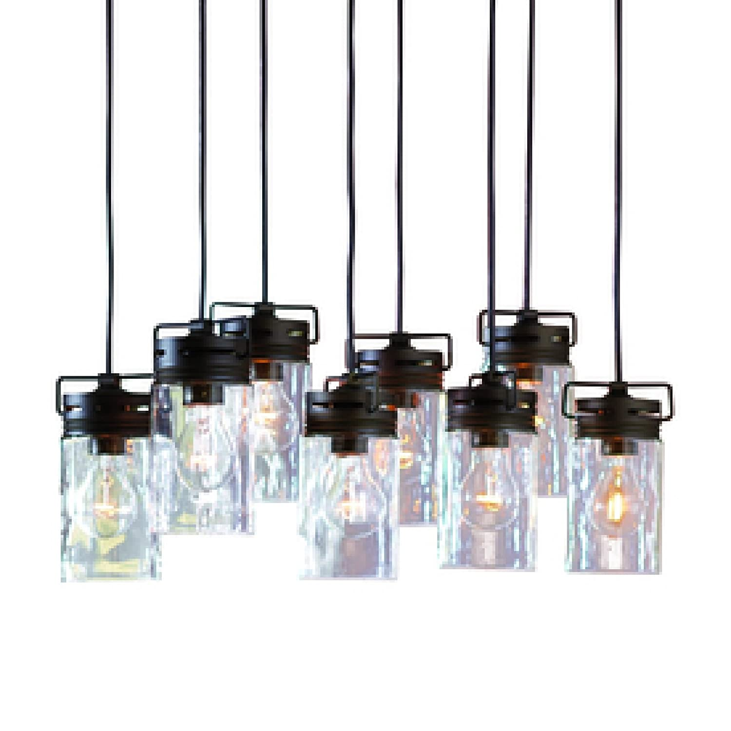 household lighting fixtures. Amazon.com: Vallymede 7.7-in Aged Bronze Hardwired Standard Multi-Pendant Light With Clear Glass Shade Bottle: Everything Else Household Lighting Fixtures