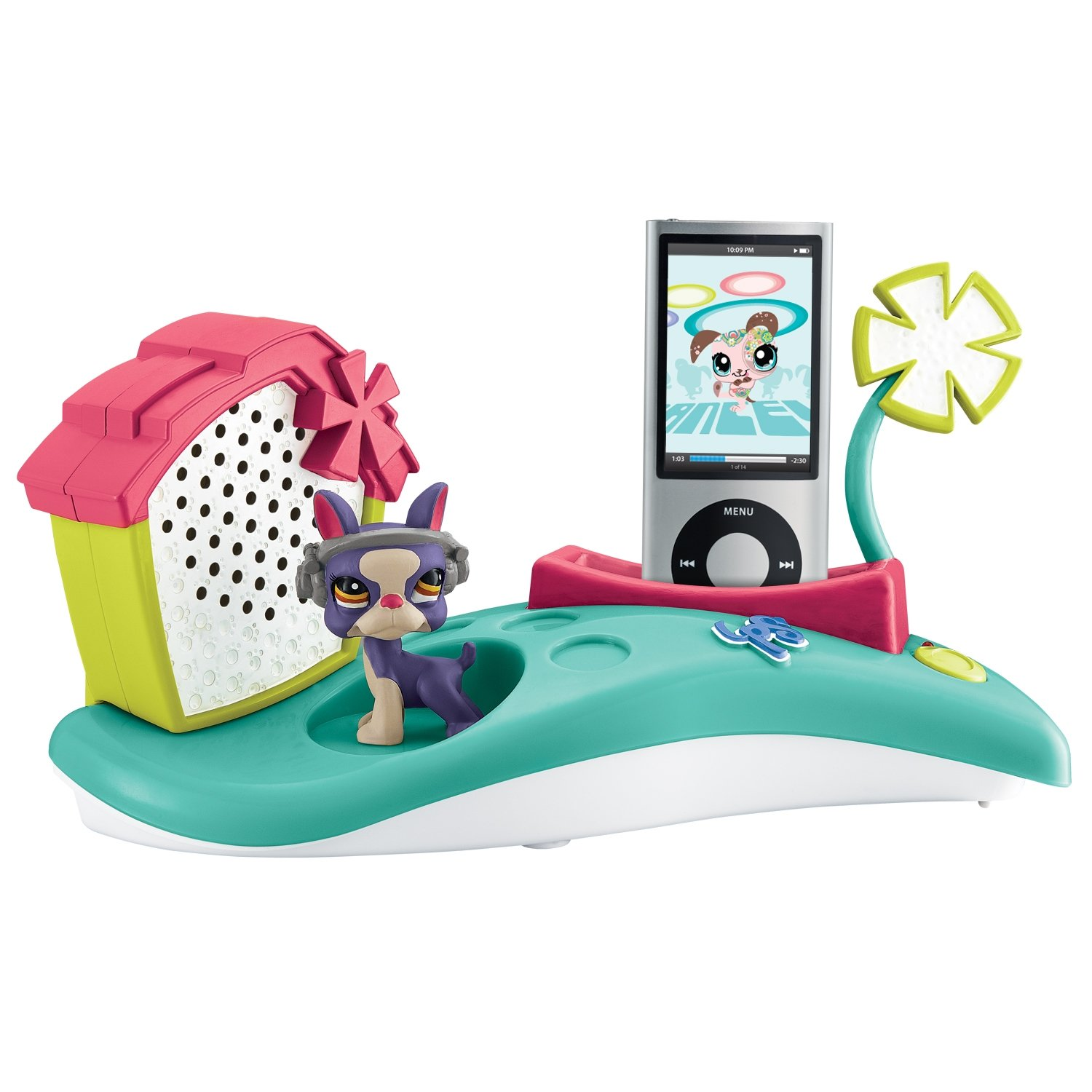 KIDdesigns, Inc Littlest Pet Shop MP3 Speaker System LP-410 C36EF13B