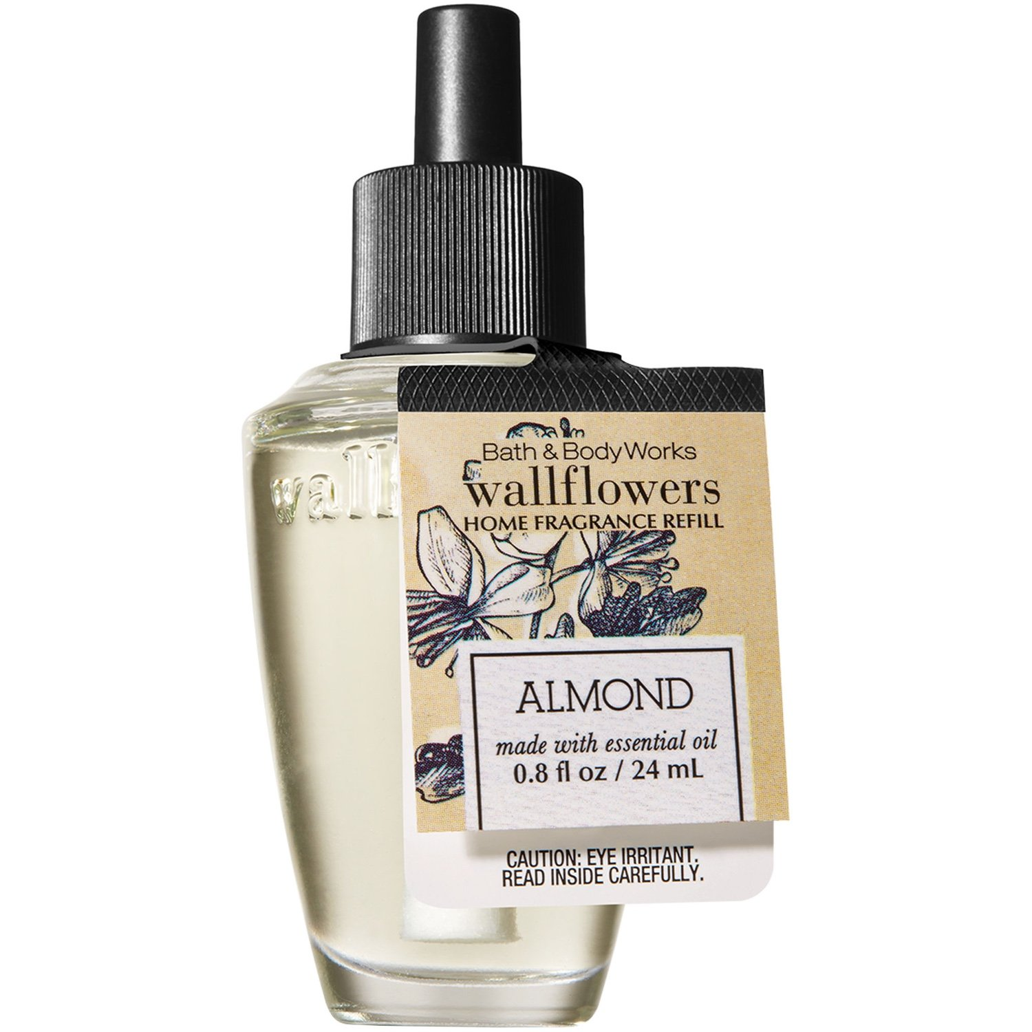 Bath and Body Works Wallflowers Fragrance Refill Made with Essential Oils (Almond)