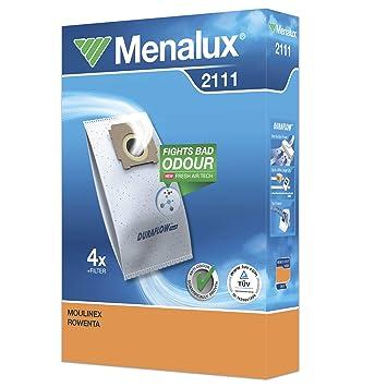 Menalux 2111 - Pack con 4 Bolsas y 1 Filtro para Aspiradores ...