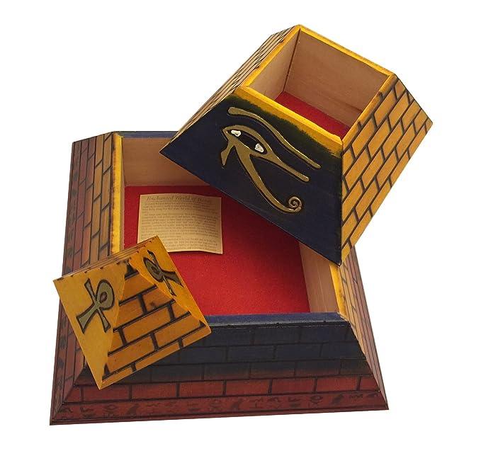 Amazon.com: Polaco hecha a mano, tamaño grande pirámide ...