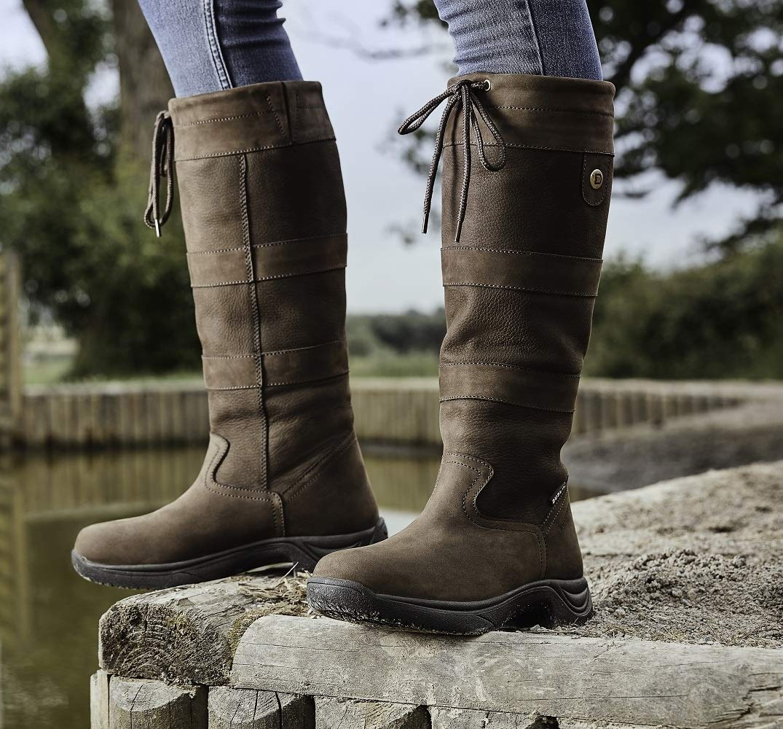 Dublin New River Bottes pour Femmes étanche Chien Marche Country Bottes d'équitation