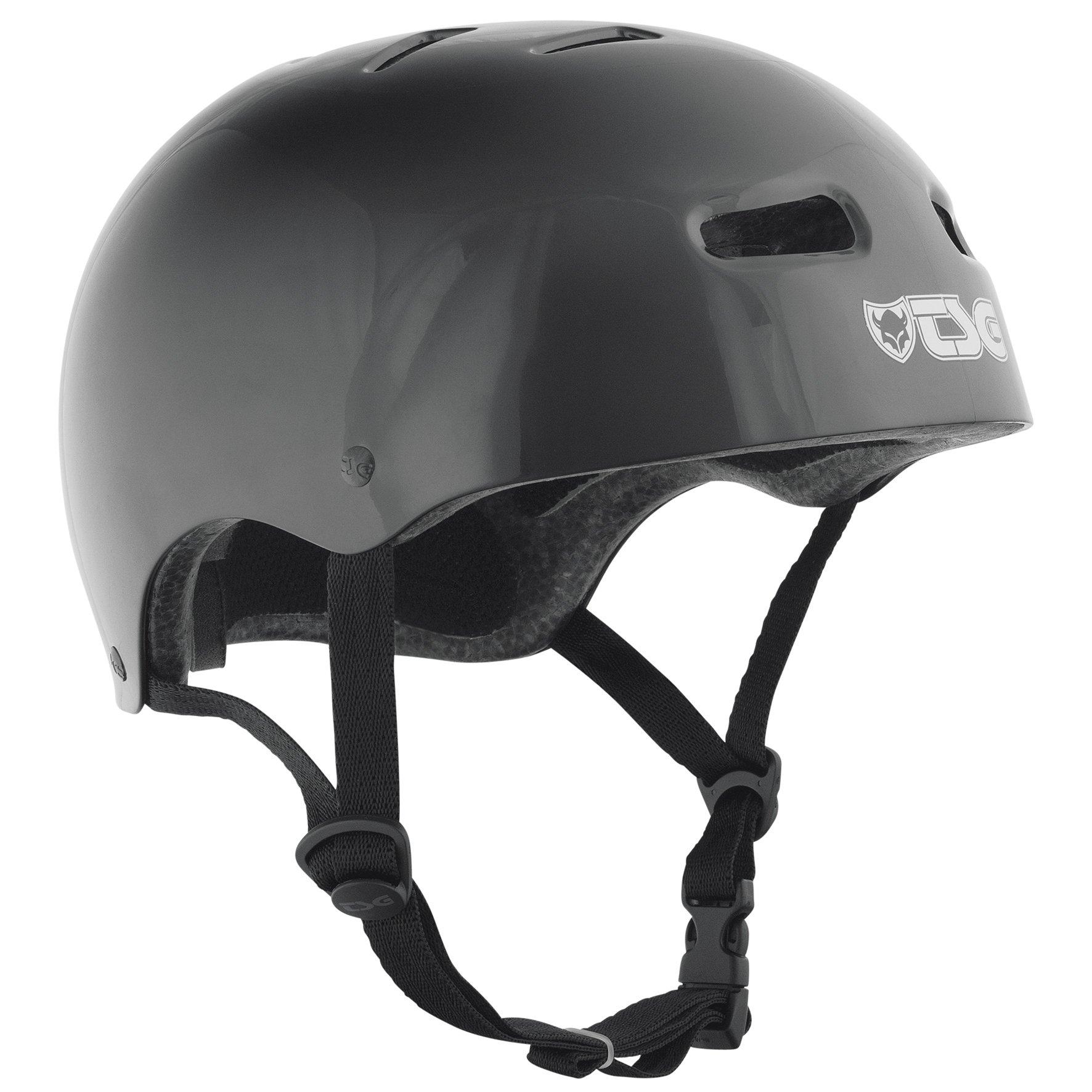 TSG Skate Helmet - Dirt, Jump, Skate, Scooter, BMX Bike Pisspot - Black LG/XL