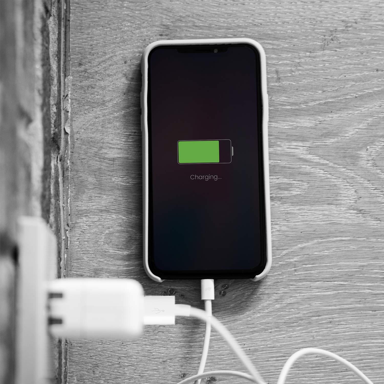 Amoner- Cable Lightning Cable Cargador iPhone-[Apple MFi Certificado]-Garantía de por Vida-Compatible con iPhone XS MAX XR X 8 Plus 7 Plus 6S 6 Plus 5 ...