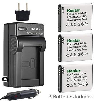 Amazon.com: Kastar Cargador, Batería para bp-70 a-1 BP-70 A ...