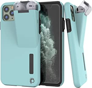 "Punkcase iPhone 11 Pro Max Airpod Charging Case Holder | Slim & Durable 2 in 1 Cover Designed for iPhone 11 Pro Max (6.5"") 