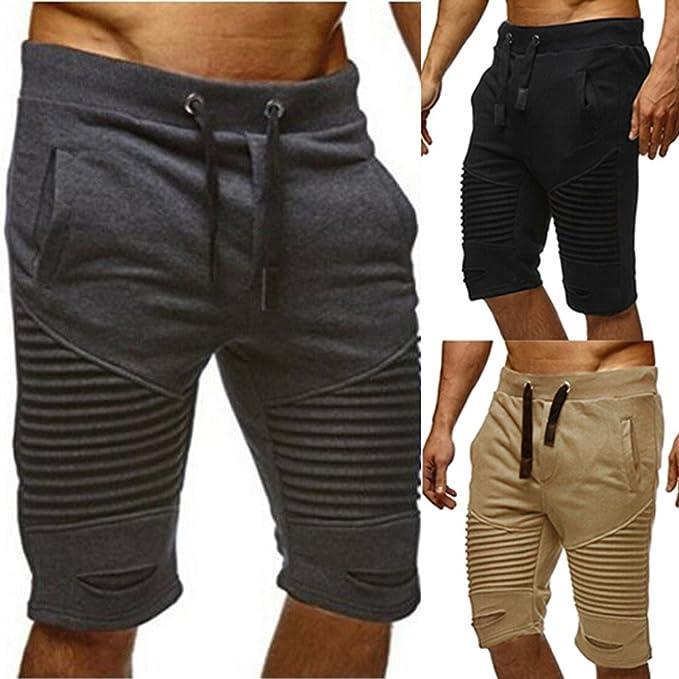 Shorts  Kurze Hose Bermudas Shorts Capri Kurzehose Gürtel