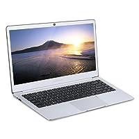 """Teclast F7 14"""" Laptop 128GB SSD RAM 6GB, Windows10 Intel N3450 Quad Core IPS Display Ultrabook, Dual WIFI HDMI BT 4.0, Memoria Espandibile con Scheda TF o SSD fino a 128GB, Case di Metallo Argento"""
