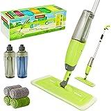 TWINRUN Microfiber Spray Mop for Floor Cleaning,Hardwood Floor Mop Kit-2 Refillable Water Bottles,4 Washable Wet Dry…