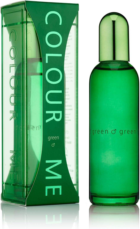 Colour Me Green 90ml Eau de Toilette