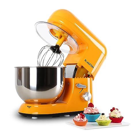 Klarstein Bella Orangina • Robot de Cocina • Batidora • Amasadora • 1200 W • 5