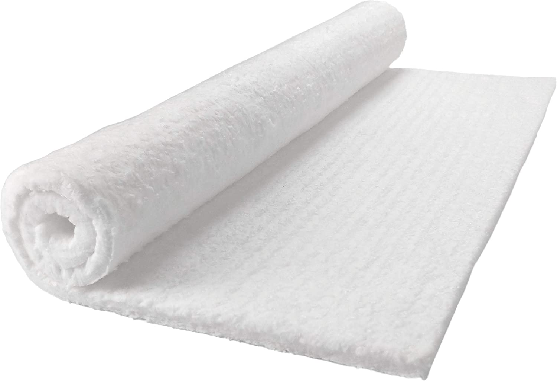 "Lynn Manufacturing Kaowool Ceramic Fiber Insulation, 1/2"" Thick x 24"" x 25"", 2400F Fireproof Insulation Blanket, 3015E"
