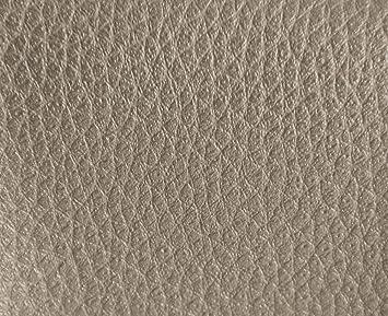 HAPPERS 1 Metro de Polipiel para tapizar, Manualidades, Cojines o forrar Objetos. Venta de Polipiel por Metros. Diseño Luna Color Platino Ancho 140cm: ...