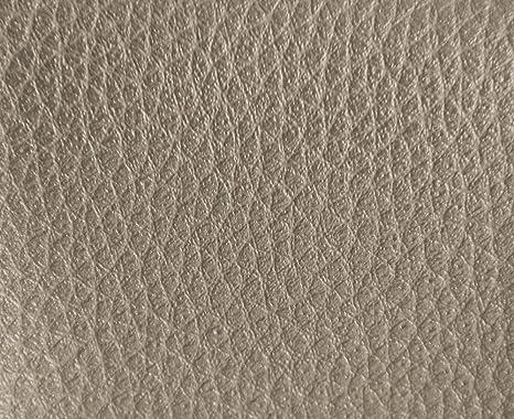 1 Metro de Polipiel para tapizar, Manualidades, Cojines o forrar Objetos. Venta de Polipiel por Metros. Diseño Luna Color Platino Ancho 140cm