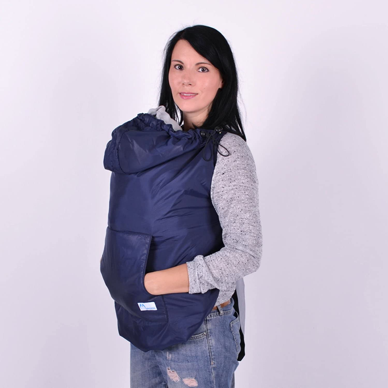 931da43dce04d Amazon.com : Winter Babywearing Coat Navy, Baby Carrier Cover, Baby  Carrier, Babywearing Coats, Coat Extender : Baby