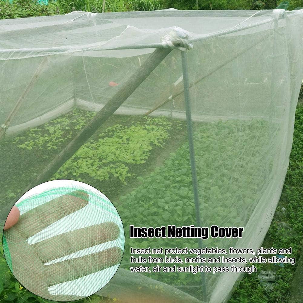 1.6 * 2m-Gr/ün Jeffergarden High-Density Mesh Insektenschutznetz Vogelschutznetz Obstschutz Sch/ädlingsbek/ämpfung
