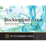 "Bockingford Watercolour Block 140lb/300gms 12x16""/305x405mm Cold Press"