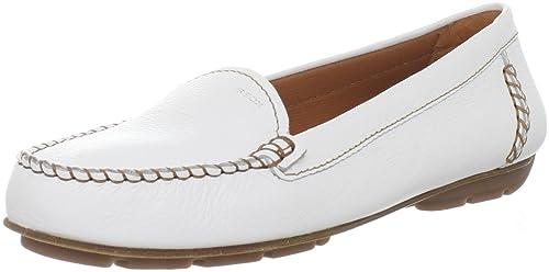 Geox Textil D ITALY G D22M7G00046C1000 - Mocasines de cuero para mujer: Amazon.es: Zapatos y complementos