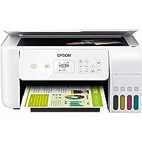 Epson EcoTank ET Series Wireless Color All-in-One Supertank Inkjet Printer/Print Scan Copy/White / 5760 x 1440 dpi…