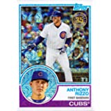 2018 Topps 1983 Design Chrome Silver Refractor #11 Anthony Rizzo Baseball Card