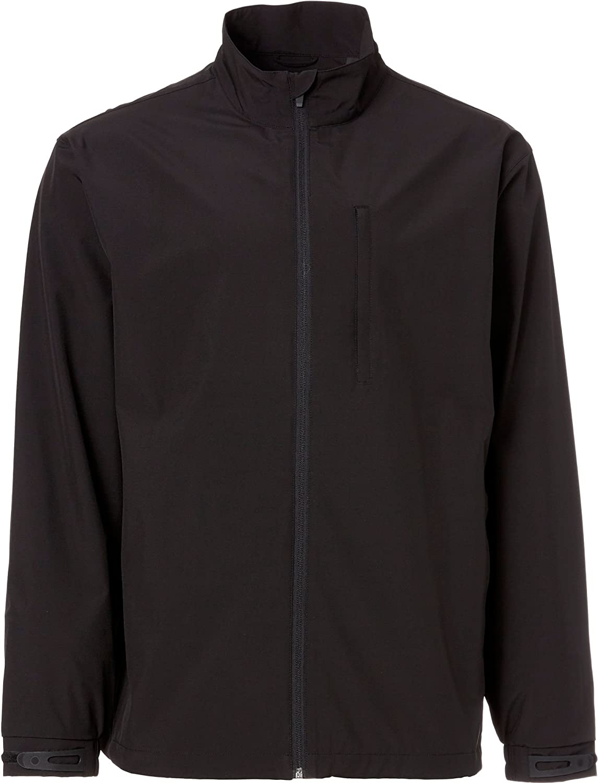 Walter Hagen Mens Rain Jacket, Black, M