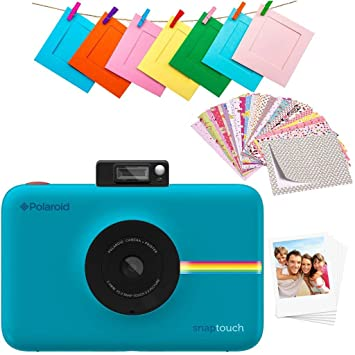 Polaroid Snap Touch 2.0 - Cámara digital portátil instantánea de 13 Mp, Bluetooth, pantalla