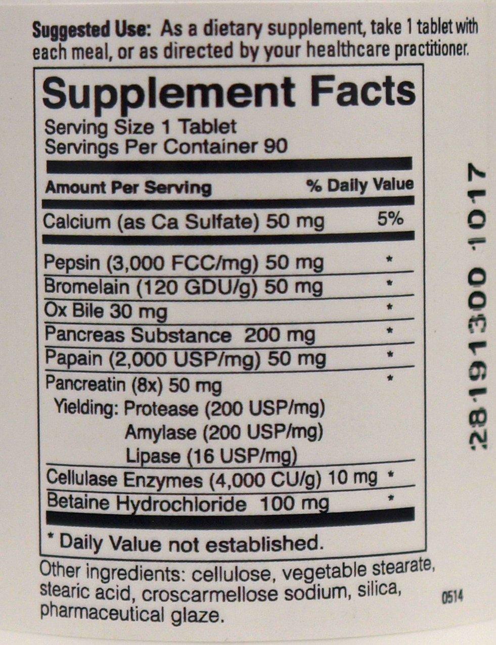 Amazon.com: enzymegenix la enzima digestiva Suplemento 90 ...