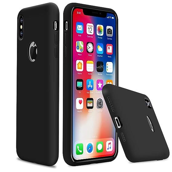 iphone xr rubber case black