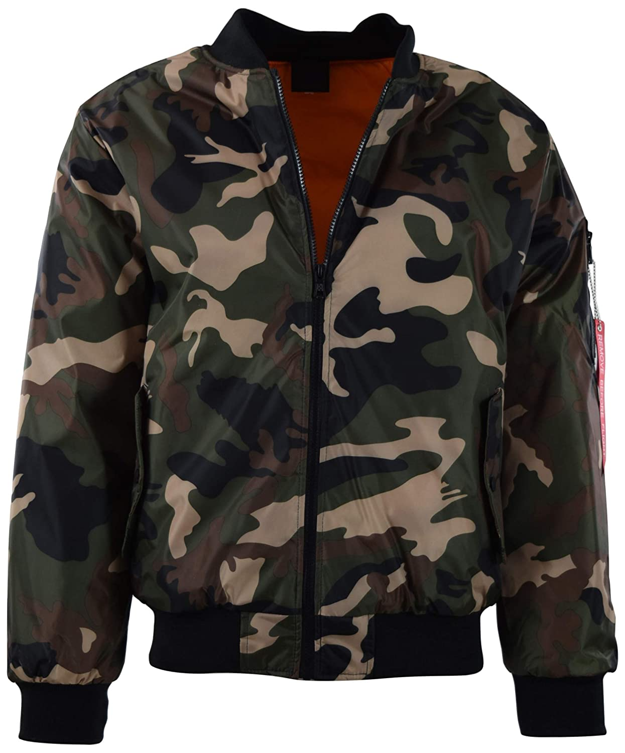 Mens Premium Quality Bomber Flight Jacket