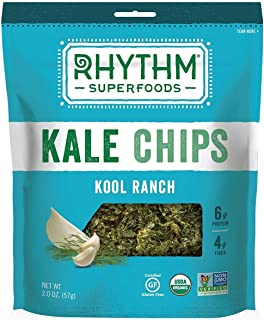 product image for Rhythm Superfoods Kool Ranch Kale Chips, 2-Ounce (Pack of 4)