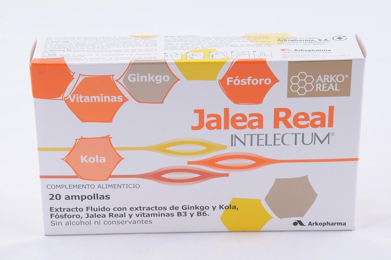 Jalea Real Intelectum Con Fosforo Ampollas Bebi: Amazon.es: Salud y cuidado personal
