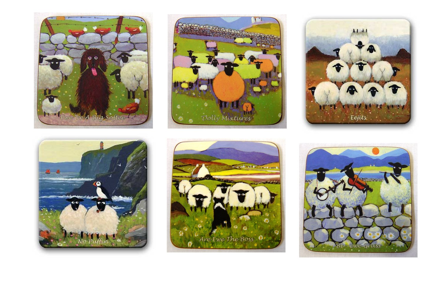 Thomas Joseph Set Of 6 Coasters Edition 3 Buy Online In Dominica At Dominica Desertcart Com Productid 51381944
