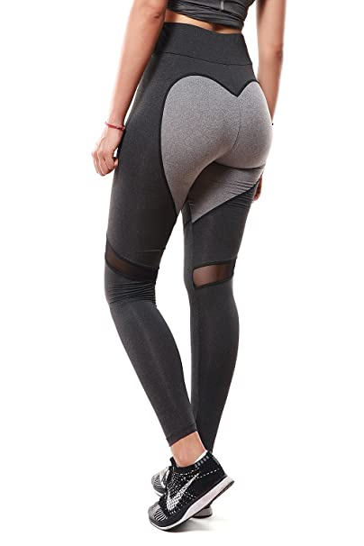 c202d7496c3 Image Unavailable. Image not available for. Color  APTERA Women s High  Waist Leggings Color Contrast Tights ...