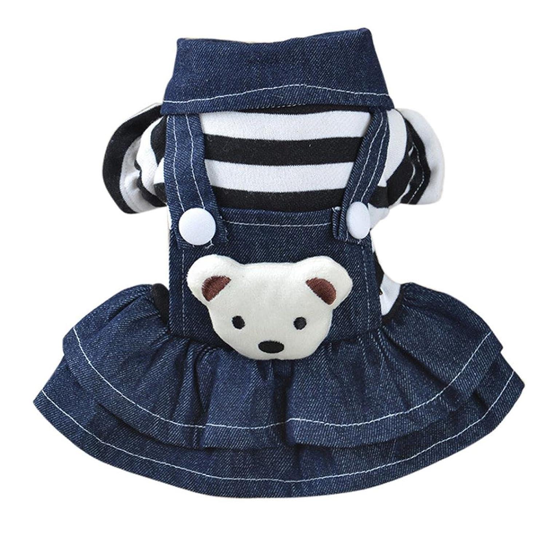 Amazon.com: Woaills Hot Sale!!Pet Clothes Apparels,Dog Puppy Dress Cat Strap Denim Skirt: Clothing