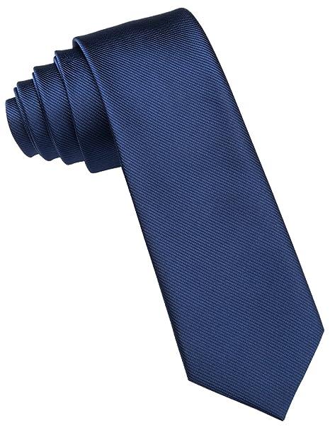 Barry.Wang - Corbata - para hombre Azul azul Talla única: Amazon ...