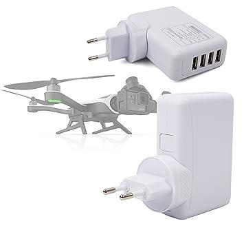 DURAGADGET Cargador De Viaje Blanco para Dron GoPro Karma Drone ...
