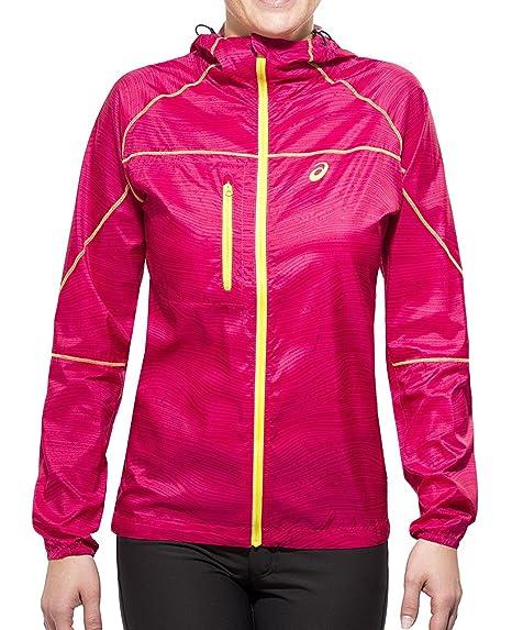 asics womens running jacket