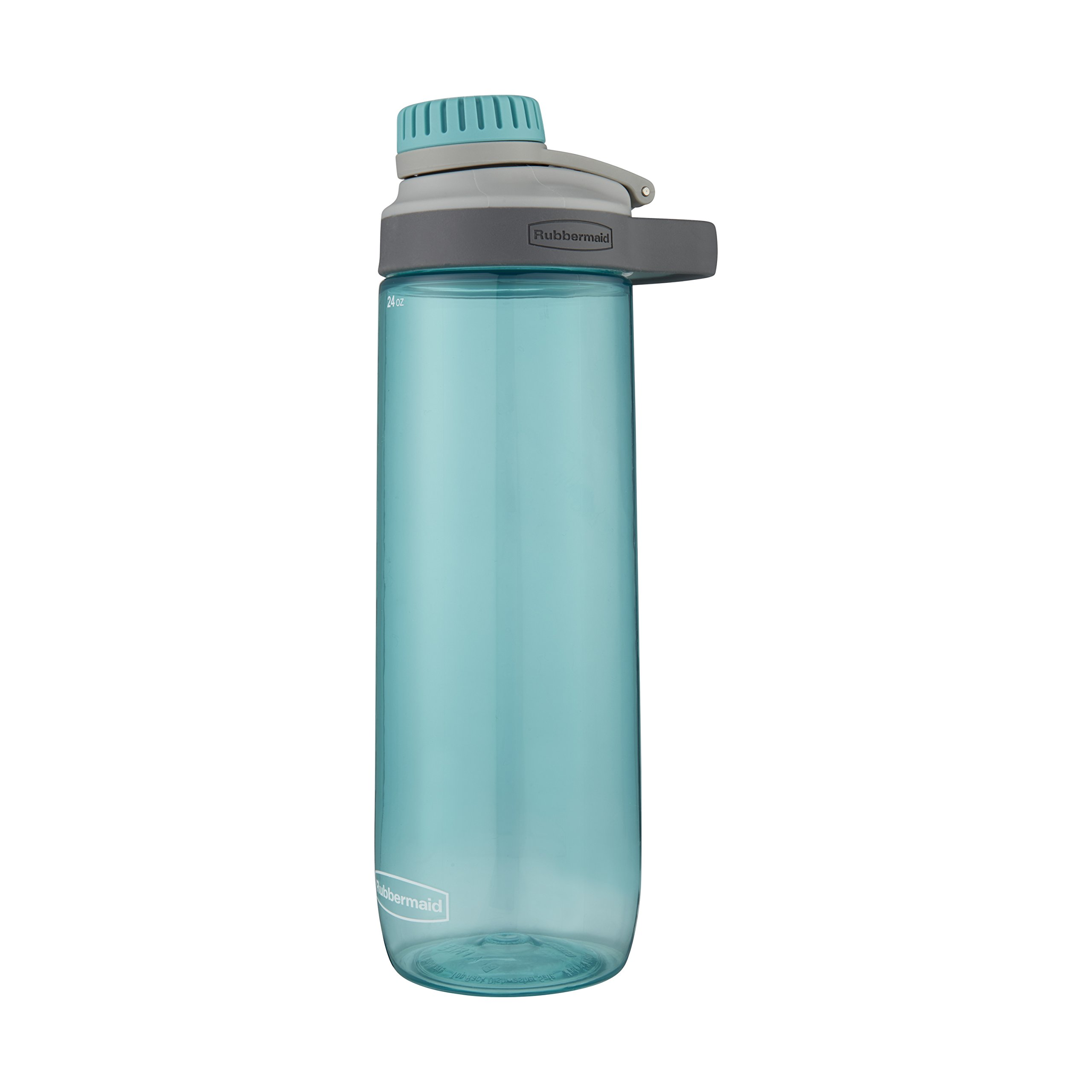 Rubbermaid Leak-Proof Chug Water Bottle, 24 oz, Aqua Waters by Rubbermaid