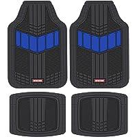 $28 » Motor Trend DualFlex Two-Tone Rubber Car Floor Mats for Automotive SUV Van Truck…
