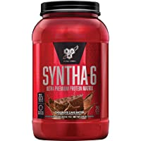 BSN SYNTHA-6 Whey Protein Powder, Micellar Casein, Milk Protein Isolate, Chocolate...