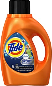 Tide Plus Febreze Fresh Sport Odor Defense Liquid Laundry Detergent