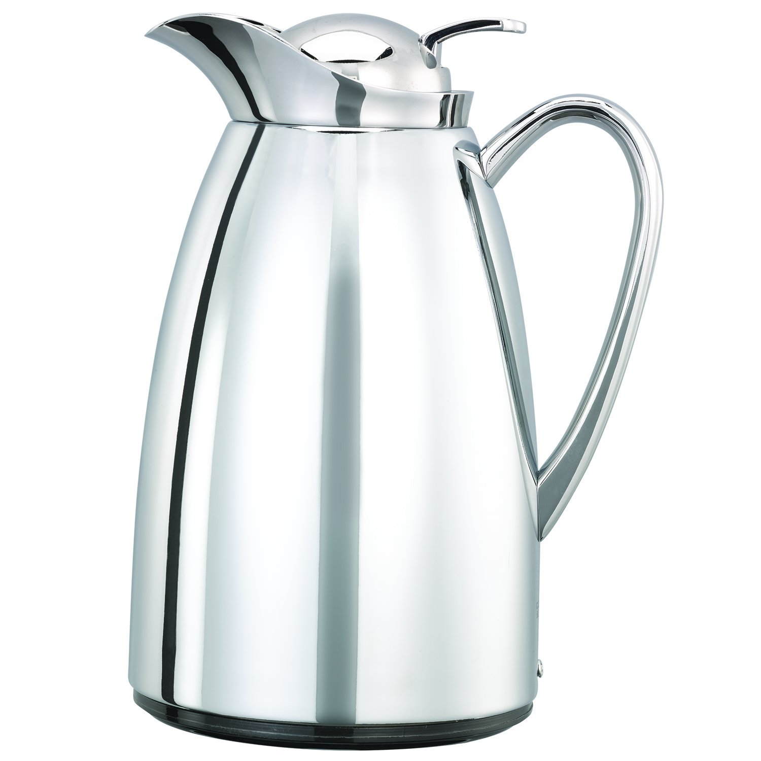 Service Ideas CJZS6CH Carafe, Stainless Steel Lined, All Polished, 0.6 L