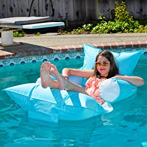 Sundale Outdoor Luxury Inflatable Swimming...
