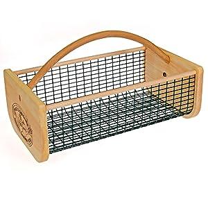 Original Garden Hod, Harvest Basket / Garden Basket - 19 x 11 x 11 Inches, Holds 15 Quarts