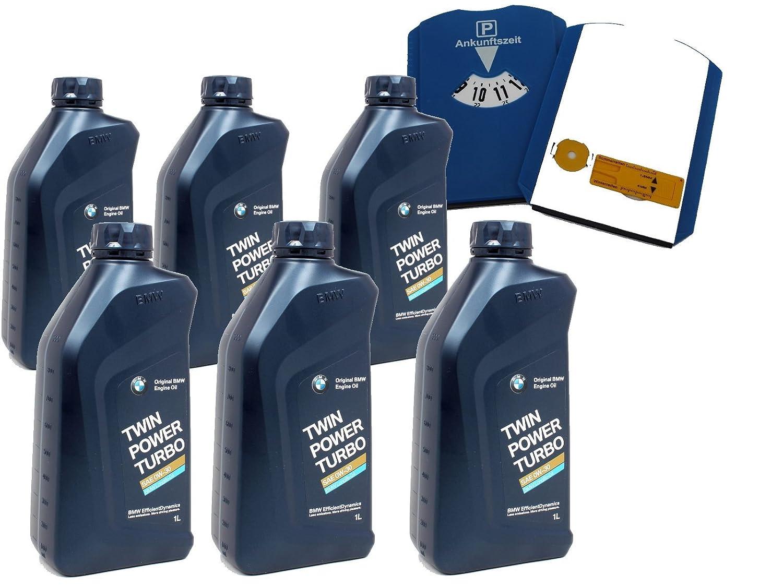 BMW TwinPower Turbo engine oil, 6 x 1 L, LL-04 0W-30, Plus