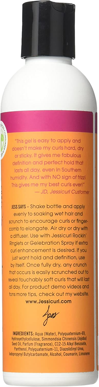 Jessicurl Spiralicious Styling Gel, Island Fantasy, 8 Fluid Ounce