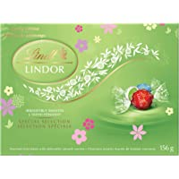 Lindt Lindor Spring Edition (Milk, Milk/White and Stracciatella) Gift Box, 156g